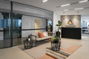 Australia Square office foyer, luke zeme, photos by Sydney commercial architectural photography, Harry Seidler Building