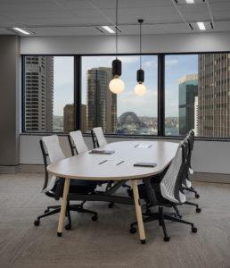 Harry Seidler's Australia Square, high rise CBD office space, Photography by sydney commercial photographer luke zeme